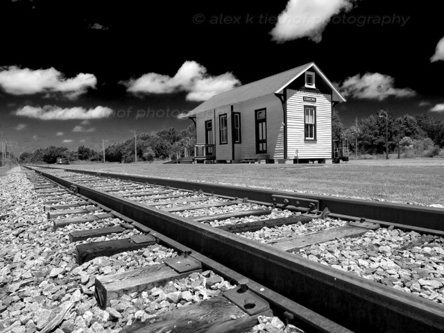 exmore-station-bw